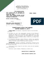 03-30-11 Compliance Orequita Case
