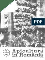 Apicultura in Romania Nr. 10 - Octombrie 1987