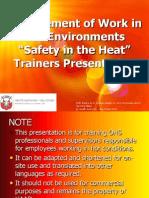 HEAT Stress Presentation - HAAD