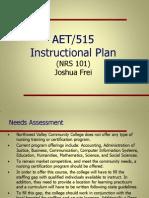 aet515 instructionalplan joshuafrei final
