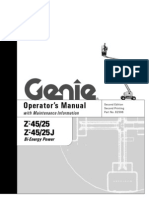 GENIE Z45 25 J Boom Lifts Manual