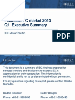Market Summary Q1 2013_Indonesia PC Market