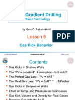 Lesson 5 Gas Kick Behavior