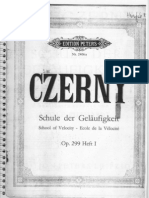 Czerny - Op. 299 Heft 1 - Piano