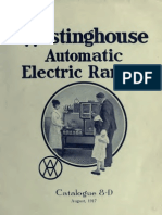 Westing House Automatic Electric Ranges