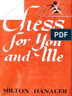 Hanauer Milton - Chess for You and Me