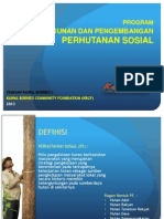 GRAND DESIGN Perhutanan Sosial
