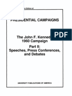 John f Kennedy 1960 Campaign Part 2