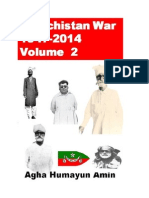 Baluchistan War-1947-2014-Volume 2Authored by Agha Humayun AminFull Color on White paperISBN-10