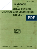 Sp 8 Mathametical Physical, Chemical & Engineering Tables