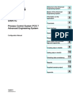 Process Control System PCS7 Advanced Engineering System