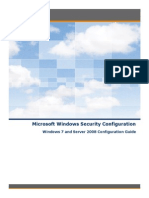 Microsoft Windows Security Configuration - Windows 7_Server 2008