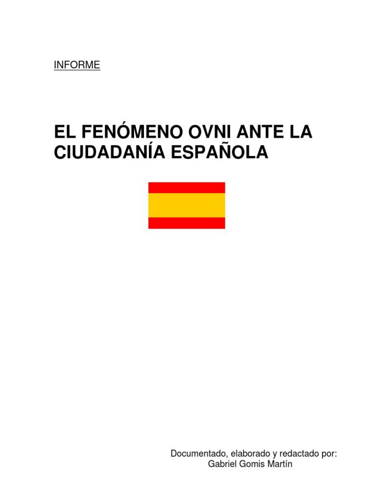 Informe OVNI Gobierno Español