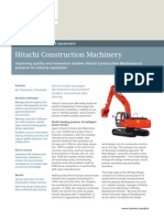 Siemens PLM Hitachi Construction Machinery Cs Z6