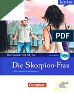 A1-A2 - Cornelsen - DaF Lernkrimis Die Skorpion Frau Liebe Und Tod in Heidelberg