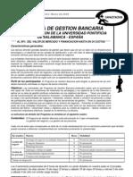 Circular 576 - Programa de Gestion Bancaria