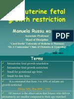 INTRAUTERINE FETAL GROWTH RESTRICTION