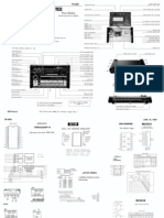 TR-808service Notes Manual