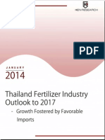 Thailand Fertilizer Industry Research Report