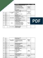 Edx Schedule