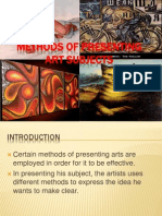 Methods of Presenting Art Subject Yom2