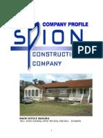 Spion Construction Current Profile November