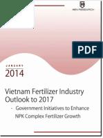 Vietnam Fertilizer Industry Research Report