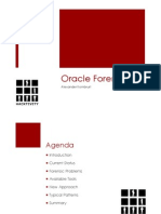 Audit Finding Oracle Forensics 101