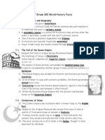 Social Studies 100 Facts