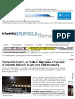 Terra Dei Fuochi, Arrestato Cipriano Chianese Il 'Colletto Bianco' Inventore Dell'Ecomafia - Napoli - Repubblica