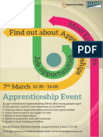 Luton Borough Council National Apprenticeship Week Event 7th March