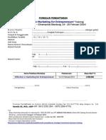 FORMULIR PENDAFTARAN_eMarketing Training