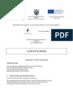 I Partiti Europei - Genova 30-31 Gennaio 2014
