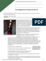 """""""La solución para las autopistas no costará un euro al ciudadano"""" _ Economía _ EL PAÍS"""