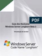 Guia Dos Revisores Windows Server Longhorn Beta 3