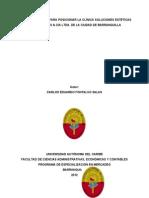 0. Tesis - Plan de Mercadeo Clinica Baquilla 2012