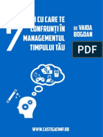 7 Situatii Cu Care Te Confrunti in Managementul Timpului Tau