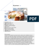 Cheesecake in Stil German