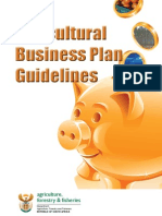 Agricultural Business Plan Guidelines