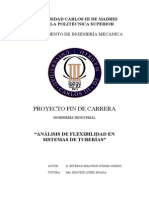 PFC-ESTEBAN MELCHOR GOMEZ GORDO-Analisis de Flexibilidad en Sistemas de Tuberias