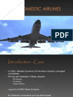 Domestic Airlines India