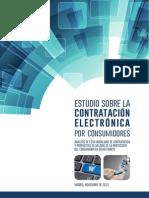 Estudio sobre la Contratación Electrónica por Consumidores