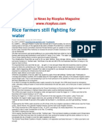 23rd Janury 2014 Daily Global Rice E-Newsletter by Riceplus Magazine(Unedited Verison)