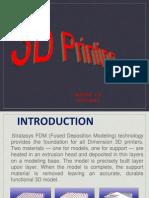 3D Printing(PPT) - Copy