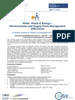 Announcement IFAT 2014 U DUE