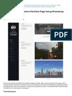 Dev.tutsplus.com-Design a Stylish Timeline Portfolio Page Using Photoshop