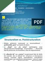 Curs 11 Poststructuralismul Si Deconstructia
