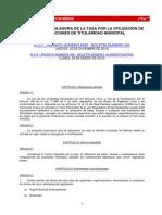 Ordenanza Tasa Utilizacion Instalaciones Municipales (2)