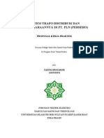 Sistem Trafo Distribusi Dan Pemeliharaannya Di Pt Pln