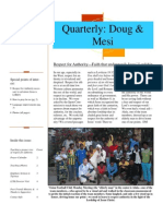 Quarterly Publication